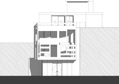 edificio-viviendas-casas-ibanez -alzado